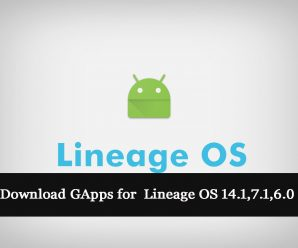 Lineage OS GApps for 14.1, 6.0, 7.1