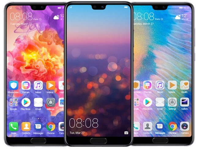 Android 9 Pie for Huawei P20 and Huawei P20 Pro to release