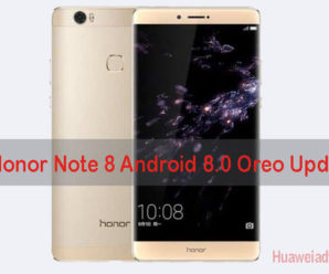 Huawei Honor Note 8 Android 8.0 Oreo update