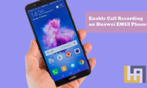Call Recording Huawei EMUI phones enable