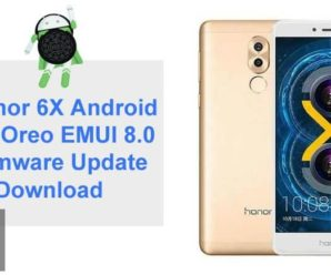 Honor 6X Android 8.0 Oreo EMUI 8.0 Firmware Download