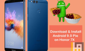 Honor 7X Android 9.0 Pie Update Download