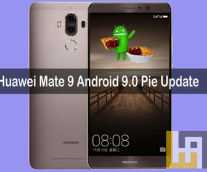 Huawei Mate 9 Android 9.0 Pie Update Download ROM