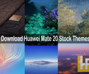 Huawei Mate 20 EMUI 9.0 Themes download