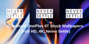 Download OnePlus 6T Stock Wallpapers Full HD 4K