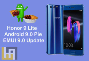 Honor 9 Lite Android 9.0 Pie EMUI 9.0 update