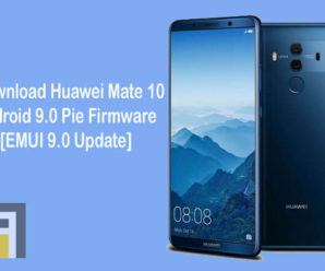 Huawei Mate 10 Android 9.0 Pie EMUI 9.0 update