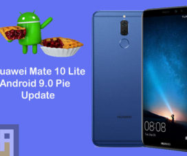 Android 9.0 Pie update for Huawei Mate 10 Lite
