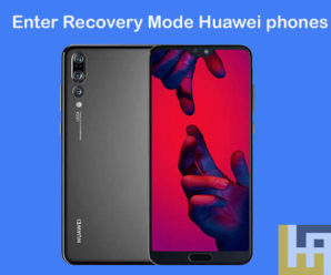 Enter Recovery Mode Huawei phones