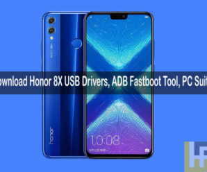 Honor 8X USB Drivers PC Suite ADB Fastboot tool