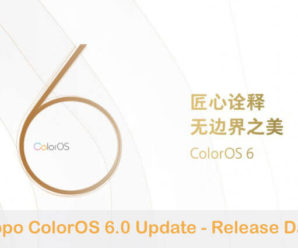 Oppo ColorOS 6.0 Update release date features download