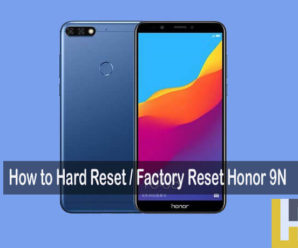 hard reset Honor 9n