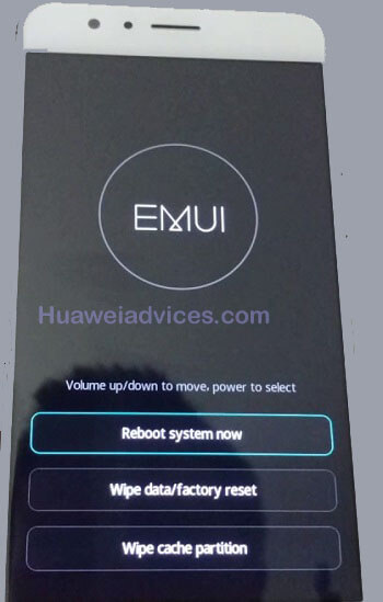 stock recovery mode Huawei honor phones