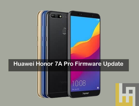 Firmware update Honor 7A Pro