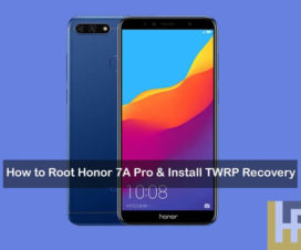 How to Install TWRP Recovery on Huawei Y9 2019 and Root with Magisk