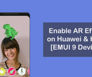 AR Stickers Huawei Honor devices