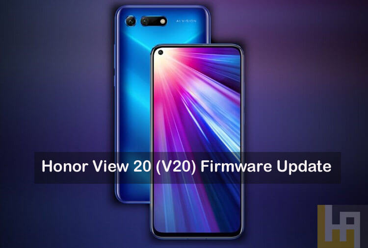 Honor View 20 firmware update