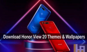 Honor View 20 themes wallpapers download