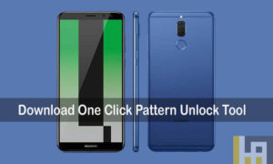 Remove forgotten pattern lock huawei device