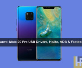 USB Drivers HiSuite for Huawie Mate 20 Pro