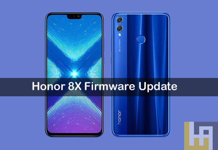 Honor 8X Firmware Update