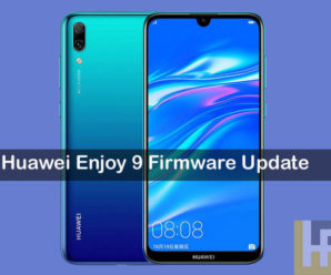 Huawei Enjoy 9 Firmware update