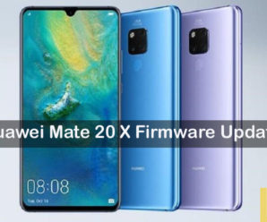 Huawei Mate 20 X stock firmware