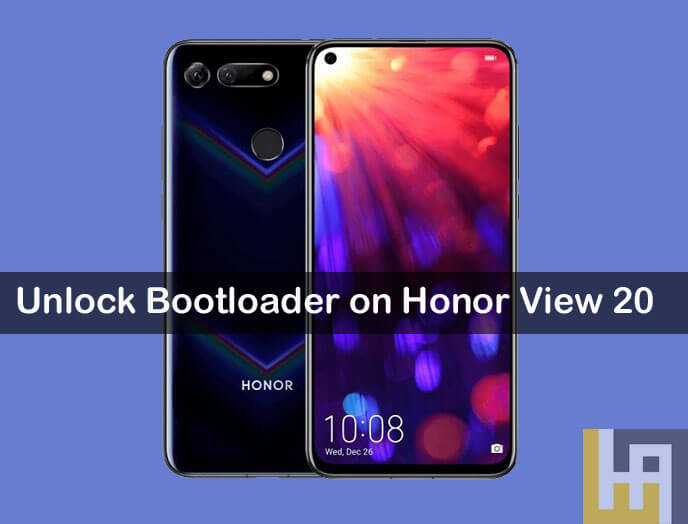 Unlock Bootloader on Honor View 20