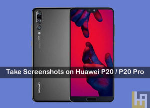 huawei p20 screenshots