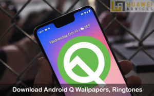 Android Q wallpapers ringtones