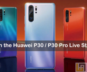 Huawei P30 Pro watch live stream