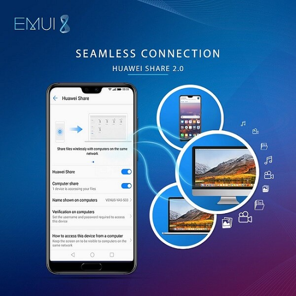 Huawei Share 2 0 | Enjoy the Seamless File Transfer between your