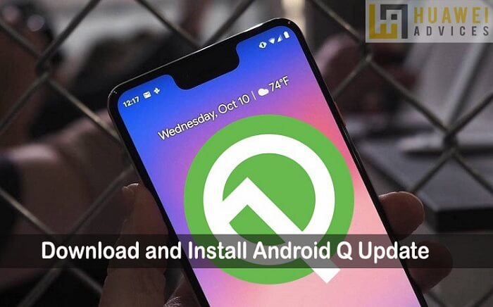 Install Android Q beta update