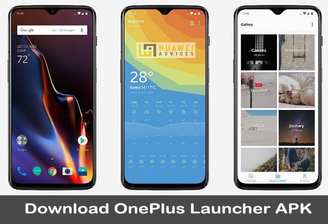 Download OnePlus Launcher APK for Android 9 Pie Devices
