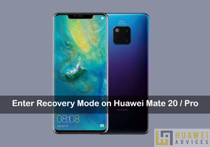 Recovery mode on Huawei Mate 20 Pro