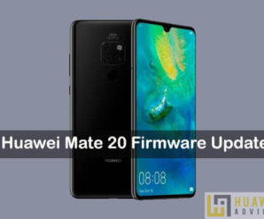 huawei mate 20 firmware update