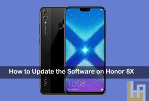 software update honor 8x
