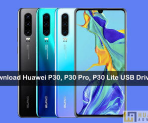 Download Huawei P30 Pro usb drivers