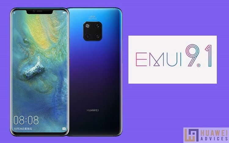EMUI 9.1 for Huawei Mate 20 Pro Mate 20 X