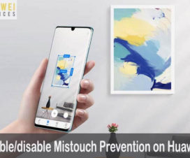 Mistouch Prevention Huawei Honor
