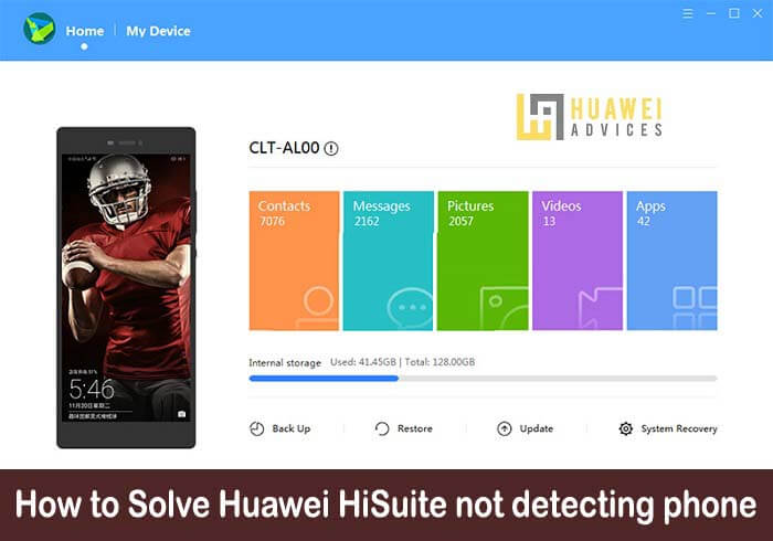How to Solve Huawei HiSuite not detecting phone | HiSuite