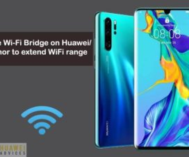 Huawei WiFi Bridge configure