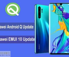 Huawei Android Pie EMUI 9 0 0 125 OTA update rolling out for