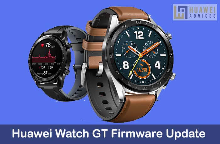 Huawei Watch GT v1 0 9 6 Firmware Update rolling out: Download