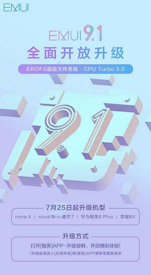 Huawei Nova 4, Nova 3i EMUI 9 1 update rolling out: Download