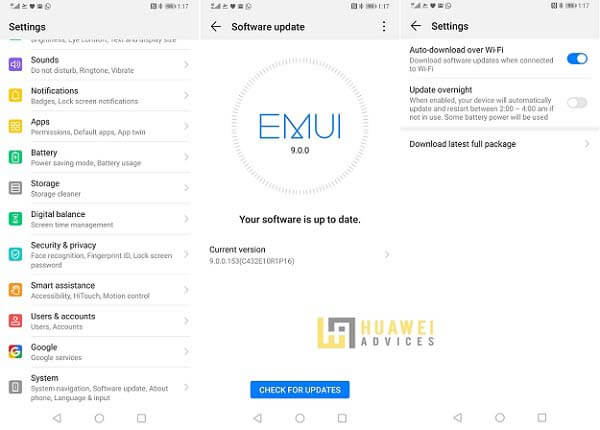 How to Software update on my Huawei and Honor smartphone