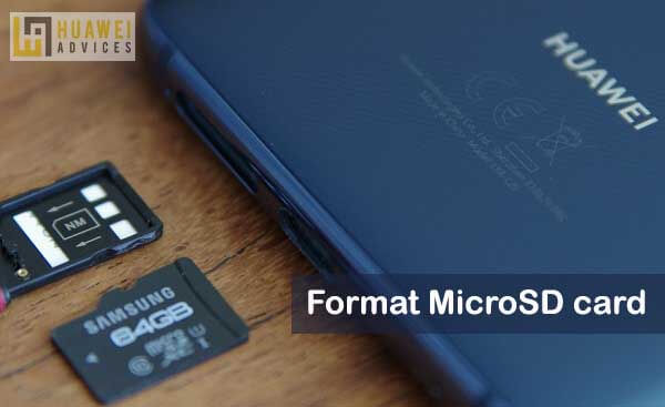 How to Format SD Card on Huawei and Honor devices | Huawei