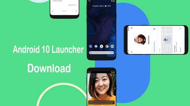 Download Android 10 Launcher APK for Huawei, Xiaomi, OnePlus