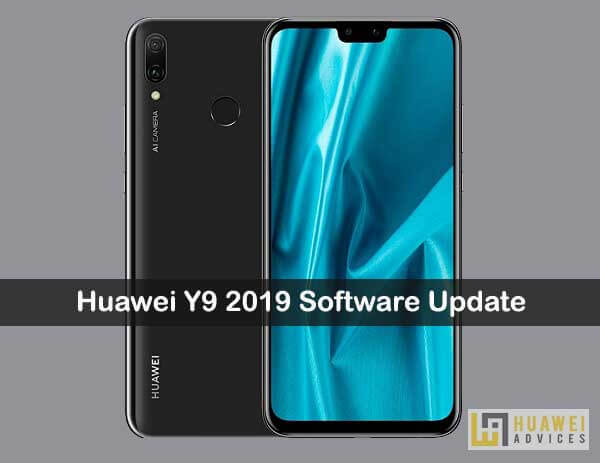 How to Software Update on Huawei Y9 2019 using the HiSuite